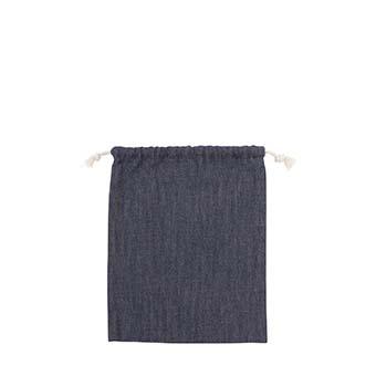 デニム巾着袋(Mサイズ) 商品画像