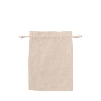 コットンリネン巾着袋(Mサイズ)商品画像